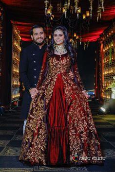 Asian Bridal Dresses, Party Wear Indian Dresses, Indian Wedding Gowns, Indian Bridal Outfits, Dress Indian Style, Pakistani Wedding Dresses, Pakistani Dress Design, Bride Reception Dresses, Desi Wedding Dresses