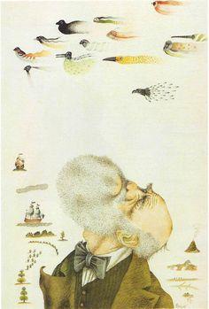 Tullio Pericoli  Charles Darwin