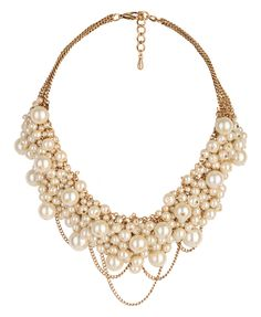 Pearlescent Bib Necklace | FOREVER21 - 1000045679