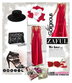 """""""Zaful 2/30"""" by dilruha ❤ liked on Polyvore featuring Post-It, Zara and Magma"""