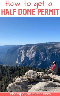 Want to hike to the summit of Yosemite's Half Dome? Here's how to get a Half Dome permit, tricks for getting a permit at the last minute, and what to do if you don't get one at all. Yosemite Sequoia, Yosemite Falls, Yosemite National Park, National Parks, Trail Guide, Volunteer Work, Getting Up Early, Park Service, Camping Meals