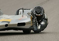 MOTORCYCLE RACING - EXTREME SIDECAR LEAN