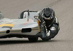MOTORCYCLE RACING - EXTREME SIDECAR LEAN