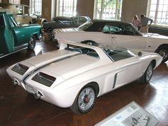 Cars 1962 Ford Mustang I Concept Car Rvr H Ford Museum N