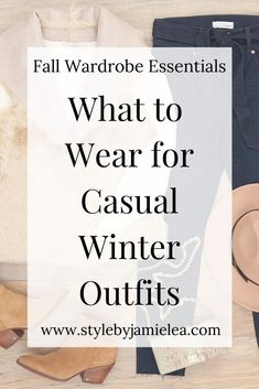 What to Wear for Casual Winter Outfits / How to Style Your Winter Clothing – Winter Outfits BLOĞ Winter Outfits For Teen Girls, Casual Winter Outfits, Winter Dresses, Dress Casual, Winter Wardrobe Essentials, Wardrobe Basics, Cold Weather Fashion, Winter Fashion, Winter Basics