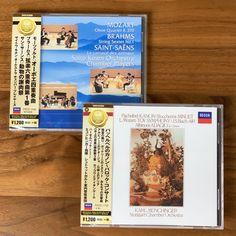タワーレコードが誇る最強のクラシックチームが厳選CDを毎月お届けする定期便✨今月は、来年2021年に没後100年を迎えるサン=サーンス、生誕350年を迎えるアルビノーニの作品が届きました✨🎵 #サブスク #サブスクリプション #サブスクリプションボックス #定期便 Oboe, Orchestra, Baseball Cards, Stuttgart, Band