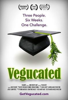 I just watched this documentay on Netflix and it may have just changed my life! Wow! Vegucated Movie