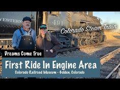 Golden Colorado Train Museum - Riding on a Steam Train - Spirit Forest - -Ep Train Museum, Forest Adventure, Photo Shoot, Colorado, Spirit, Youtube, Photoshoot, Aspen Colorado, Youtubers