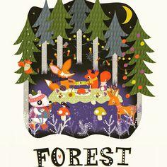 Forest Fun by Bettyjoy