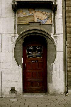 Antwerp, Art Nouveau.