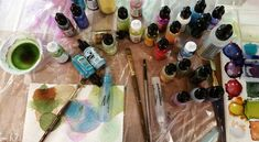 If you want to get started with a new medium, I highly recommend trying alcohol inks. First and foremost, you will want to PREP THE CANVAS. Stock canvases have a bit of a sheen to them and that is …