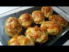 Patatas rellenas de carne. Receta súper fácil - YouTube