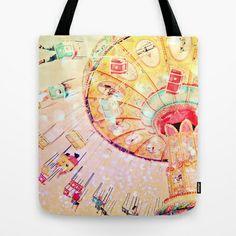 Joy Ride... Tote Bag by Lisa Argyropoulos - $22.00