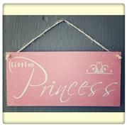 Little Princess Sign Little Princess, Plywood, Signs, Decor, Hardwood Plywood, Decoration, Shop Signs, Decorating, Sign