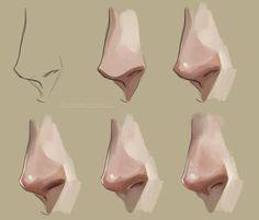 코에 명암