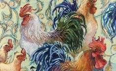 Leslie Rooster Placemat