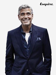 George Clooney in Giorgio #Armani