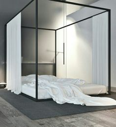 Can a Canopy Bed Ever Be Masculine?