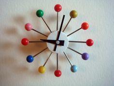 Miniature   Ball Wall Clock