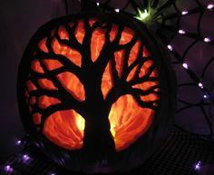 Martha Stewart Pumpkin carving tip: Stencil designs onto your pumpkin instead of ...