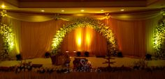 """This reception decoration done by incredibles """"Elegant use of white orchids the wedding which felt so heavenly.... the decor was a very beautiful  we are glad to be a part of the grand success"""" location: Hotel le Royal park in pondicherry date: 17th February 2014 for more information see our website www.incredibledecors.com contact: 9585509851 / 52 / 53"""