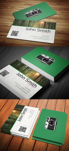 Photography Business Card Template Designwithred Psd Photoshop Illustrator