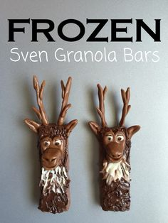 The Beautifully Creative Inspired Link Party  #5 features this Frozen Sven Granola Bars http://cityofcreativedreams.blogspot.ca/2015/10/the-beautifully-creative-inspired-link.html