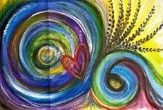 """Movement"" - acrylic on canvas"