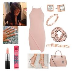 """""""Panda- Kash Doll"""" by mirah123 ❤ liked on Polyvore featuring Miss Selfridge, MAC Cosmetics, Privileged, Michael Kors, CC SKYE, Kendra Scott and Journee Collection"""