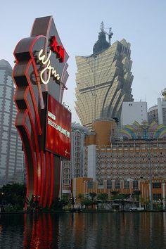 Casinos. Macau, China