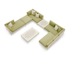 Dedon Mu sectional sofa
