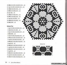 Схемы треугольников 2 - Прочее - Схемы плетения бисером - Сокровищница статей - Плетение бисеро...