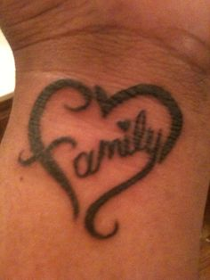 Family tattoo idea??? Omg love! Not so much the placement though.