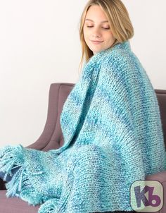Quiet Moments Afghan Free Pattern