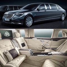 Mercedes Benz Maybach Pullman