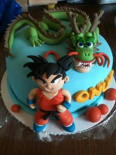 Shenron from Dragon Ball Z Fondant cupcake toppers Gift Ideas