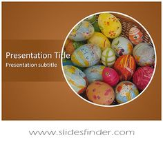 23 best free abstract art powerpoint templates images on pinterest create effective easter eggs ppt presentation with our free easter eggs toneelgroepblik Image collections