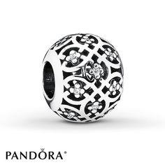 Pandora+Charm+Intricate+Lattice+Sterling+Silver