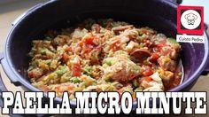 Recette rapide paella au micro minute Tupperware