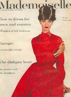Dolores Hawkins, Mademoiselle October 1956