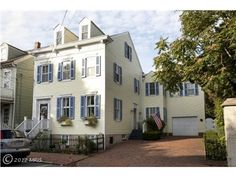 198 King George Street, Annapolis, MD 21401 — Acclaimed masterpiece circa 1870, located next door to the Naval Academy,With a lovingly landscaped garden & attached garage that includes a driveway with ample space for 3 cars.The exquisite interior features materials, finishes & workmanship that are reserved for the most elite Annapolis homes.Breathtaking view of the Chapel Dome. Completely renovated yet retains the graciousness of a bygone era