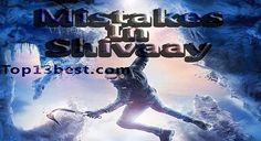 All Silly Mistakes in Shivaay 2016 movie – Ajay Devgan & Sayyeshaa Saigal