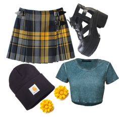 """""""kilt"""" by emmarussell84 ❤ liked on Polyvore"""