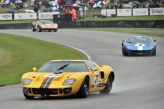 photos of ford gt40 race cars   Goodwood Revival 2013 – Ford GT40 Race Photos