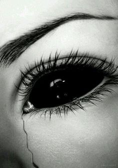 Horror, Music and all things dark and creepy. Dark Art Drawings, Pencil Art Drawings, Art Drawings Sketches, Black Vampire, Vampire Eyes, Art Noir, Demon Eyes, Arte Obscura, Dark Fantasy Art
