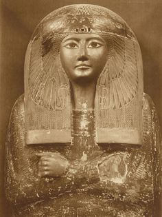 Title: Coffin of Queen Ma'at-kere; Émile Brugsch. (Third Intermediate Period - Dynasty XXI)
