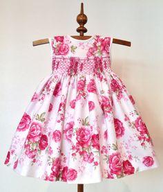 París Vestido de rosa para las niñas tamaño 6 meses vestido