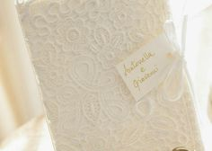 Matrimonio - Inviti in pizzo - Vintage  Wedding invitation
