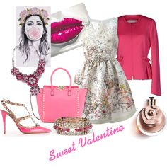 """Sweet Valentino"" by ikdea on Polyvore, #valentino"