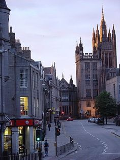 Aberdeen - where my ancestors are from!
